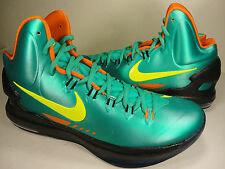 Nike Zoom KD V 5 iD Green Yellow Orange Black SZ 11 (607467-991)