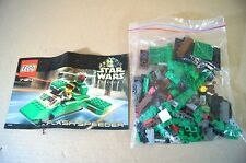 LEGO 7124 STAR WARS EPISODE 1 FLASH SPEEDER MINT COMPLETE with ALL PARTS mv