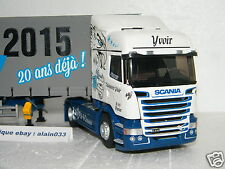 SCANIA STREAMLINE HIGHLINE TAUTLINER TRANSPORTS YVOIR 20 ANS ELIGOR 1/43- 115398