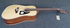 Ibanez AW8012-NT 12 STRING Artwood DREADNOUGHT ACOUSTIC Solid Sitka Spruce top