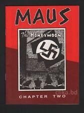 Art SPIEGELMAN - MAUS Chapter Two THE HONEYMOON 1981 - FIRST EDITION - NM