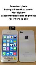 Genuine OEM Quality Lcd Screen & Back Replacement For Original iPhone 4s White