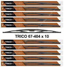 """10-Pack 40"""" Trico HD Wiper Blades For 16x6 Reverse Hook Arms TRICO 67-404 x 10"""
