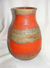Vintage 60-70s FAT LAVA Carstens Vase West Germany Art Pottery