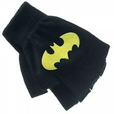 Batman dark knight fingerless gloves BLACK