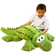 Corey the Friendly Green Crocodile - 130cm  plush toy - Huge teddy - Brand new