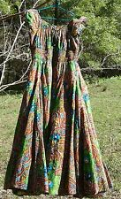 Chelsea & Theodore Colorful PaisleyPeasant Boho-Chic Rock-a-Billy XL Dress NWT