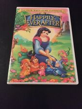 HAPPILY EVER AFTER - THE SNOW WHITE STORY CONTINUES... DVD NO SCRATCHES