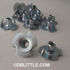 """(2000) 1105NT3 10-32 x 5/16"""" 3 Prong T Nut Tee Nuts for woodworking & furniture"""