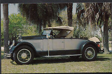 Motor Transport Postcard - 1925 Pierce Arrow Roadster, Sarasota, Florida  9935