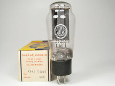 NOS AZ50-G4004-VALVO-MADE BY MULLARD BLACKBURN-FROM SEALED BOX-COKE BOTTLE