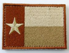 Texas Flag Embroidered Patch Badge Stick on 7 x 5cm New