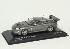 Jaguar XKR GT3 Street 2008 grau grey grigio gris met. Minichamps 400081390 1:43