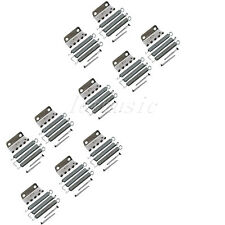 10Set Tremolo Claw W/Spring Screw Chrome for fender Strat replacement