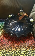 RARE Fitz & Floyd Halloween Witch Serving Tray/ Candy Dish 1987