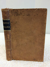 ELEMENTS OF ALGEBRA By Charles Davies - 1872 - 1st ed - Mathematics, leather