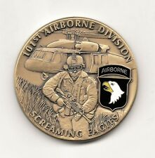 US Army 101st Airborne Screaming Eagles Challenge Coin