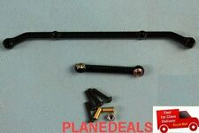 Aluminum Steering Link Arm UPGRADE For Axial AX10 SCX10  Black L30