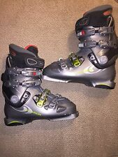 Salomon Evolution 10.0 Chassis Ski Boots Mens Size 7 Flex Adjuster Gray