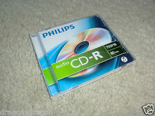 Philips CD-R Audio, 80 Minuten / 700MB, NEU, Audio CD-R Rohling
