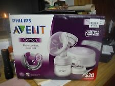 Philips AVENT Single Electric Comfort Breast Pump Compact Lighweight Design, NEW