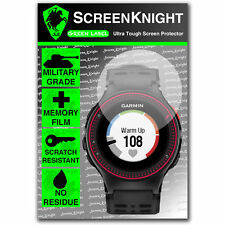 ScreenKnight Garmin Forerunner 220 SCREEN PROTECTOR invisible military shield