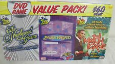 DVD ENDLESS GAMES NEWLYWED PASSWORD MATCH GAME NEW IN BOX SEALED VALUE PACK