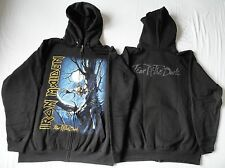 IRON MAIDEN - FEAR OF THE DARK HOODIE ZIPPER BLACK SABBATH JUDAS PRIEST SAXON
