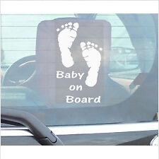Bebé en board-vehicle Ventana sticker-car, van,truck,caravan-vinyl señal de advertencia
