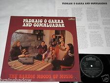 PADRAIG O CARRA AND COMHLUADAR the bardic moods of music LP Intercord 1977 FOLK