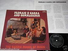PADRAIG O CARRA AND COMHLUADAR the bardic moods of music LP Intercord 1977 FOLK