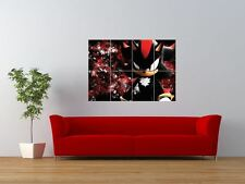 SHADOW THE HEDGEHOG SONIC VIDEO GAME GIANT ART PRINT PANEL POSTER NOR0047
