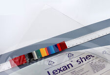 "Clear Polycarbonate Lexan Sheet 1/4"" x 24"" x 48"""