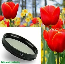 Maxsimafoto - 52mm CPL Filter for CANON EF 50mm f/1.8 II Prime Lens