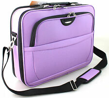 "16"" Widescreen Laptop Bag Notebook Da Viaggio Office Case Valigetta"