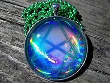 Yugioh Card Glass Pendant Keychain Necklace Custom Cosplay Seal of Orichalcos