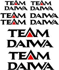 TEAM DAIWA - DECAL SET OF 6 - BOAT DECALS