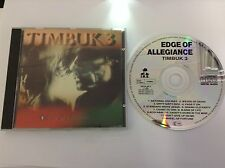 Edge of allegiance by Timbuk 3 I.R.S LABEL CD 1989