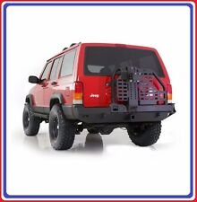 Smittybilt XRC Rear Tire Carrier Bumper with Hitch for 84-01 Jeep Cherokee XJ