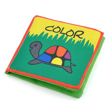 Color Cognize Intelligence development Cloth Book Educational Toy for Kid Baby