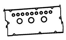 ROCKER VALVE COVER SEAL SET FOR MITSUBISHI 6A13 GALANT EC5A 96-02 LEGNUM EC5W