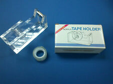 Acrylic Clear Desk Top Tape Dispenser (288) with FREE TAPE