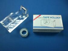 Acrylique clair desk top bande distributeur (288) avec free ruban