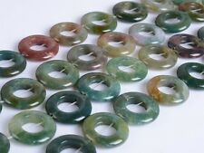 """0289 20x4mm Indian agate donut loose beads 14"""""""