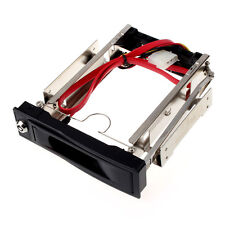 3.5 Inch SATA HDD ROM Hard Disk Tray Drive Mobile Rack Swappable Desktop S9DS