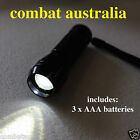 Combat ready LED torch military army grade camping hunting flashlight longlife