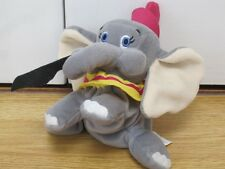 "DUMBO 6"" BEANIE BEAN BAG SOFT TOY ELEPHANT WALT DISNEY WORLD"