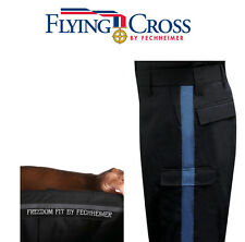 FLYING CROSS 49350 COMMAND T-11 CARGO PANTS LAPD NAVY w BLUE STRIPE WOMENS 4X33