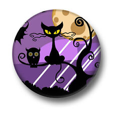 Halloween Cat 1 Inch / 25mm Pin Button Badge Monster Black Cats Ghosts Ghouls