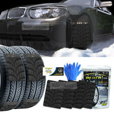 Car Snow Pass Tire Chain Winter Antiskid Belt Ice Nonslip Pad 4P For All Vehicle